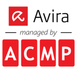 Logo Avira managed by ACMP